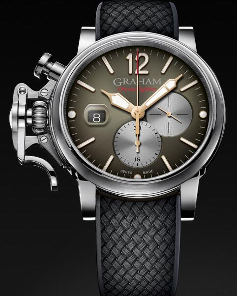 Graham Chronofighter Grand Vintage 2CVDS.C02A Replica Watch