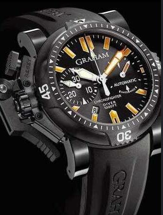 Graham Chronofighter Oversize Diver Date 20 VES BO2B.K10B Replica Watch