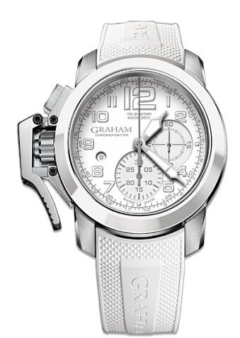 Graham Chronofighter Steel Black & White 2CCAD.W02A Replica Watch