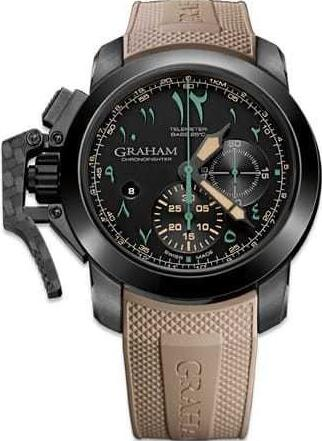 Graham Chronofighter Oversize Golden Dune 2CCAU.B12A.K93N Replica Watch