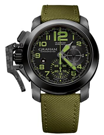 Graham Chronofighter Oversize 2CCAU.G01A Replica Watch