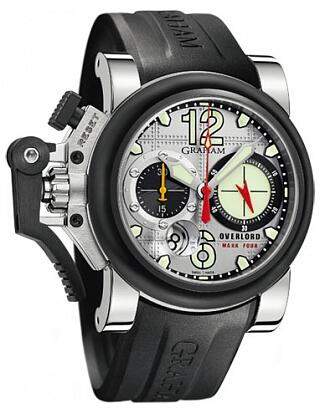 Graham Chronofighter Oversize Overlord Mark Four 2OVBV.S05A.K10F Replica Watch