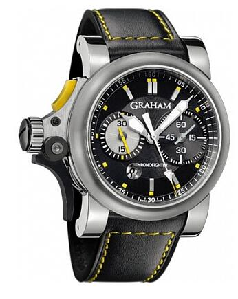 Graham Chronofighter RAC Trigger Black Rush 2TRAS.B01A.L95B Replica Watch