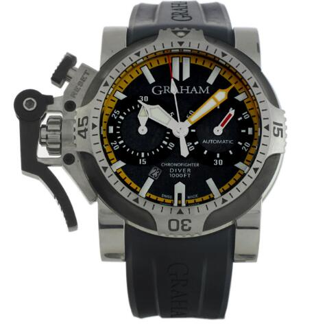 Graham Chronofighter Oversize Diver 20VEV.U05A.K41B Replica Watch