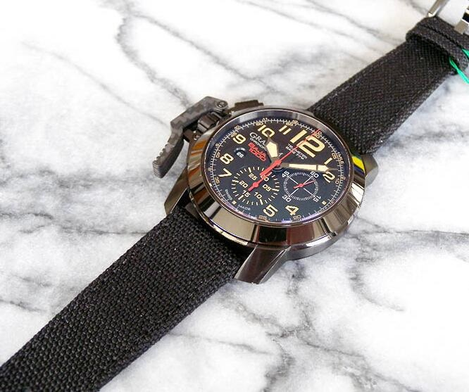 Graham Chronofighter Oversize 2CCAU.B04A.T13N Replica Watch