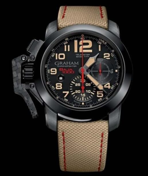 Graham Chronofighter Oversize 2CCAU.B04A.T17N Replica Watch