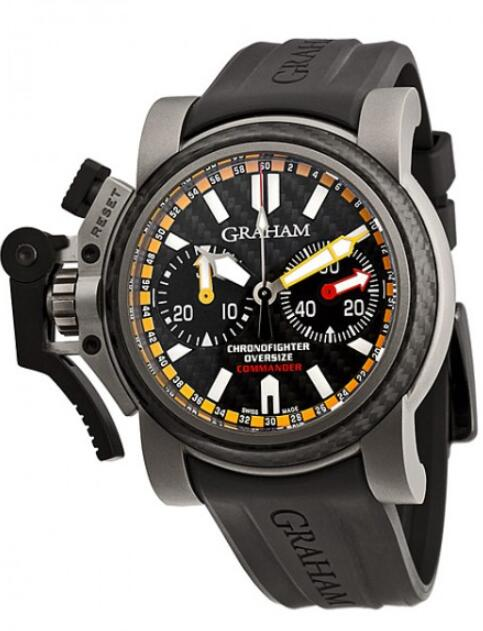 Graham Chronofighter Oversize 2OVATCO.B01A.K10B Replica Watch