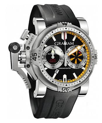 Graham Chronofighter Oversize Diver Turbo 2OVES.B15A Replica Watch