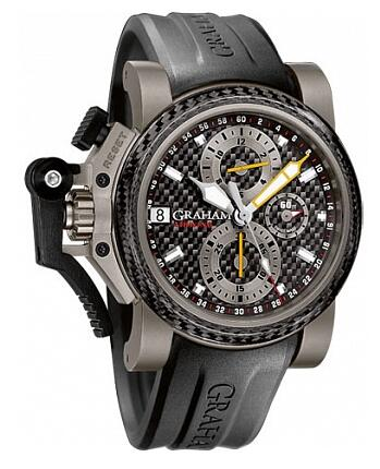 Graham Chronofighter Oversize Titanium Airwing Black Carbon 2OVKI.B09A Replica Watch