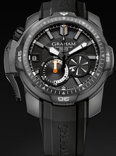Graham Chronofighter Prodive 2CDAB.B02A Replica Watch