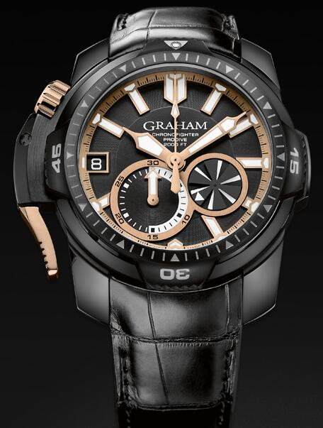 Graham Chronofighter Prodive 2CDAZ.B04A Replica Watch