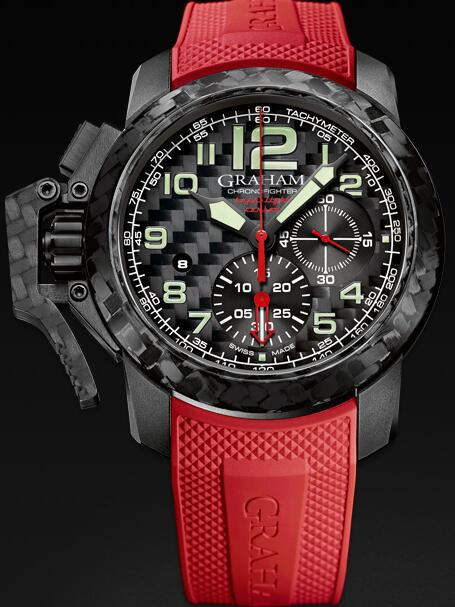 Graham Chronofighter Superlight 2CCBK.B11A Replica Watch