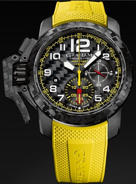 Graham Chronofighter Superlight 2CCBK.B15A Replica Watch