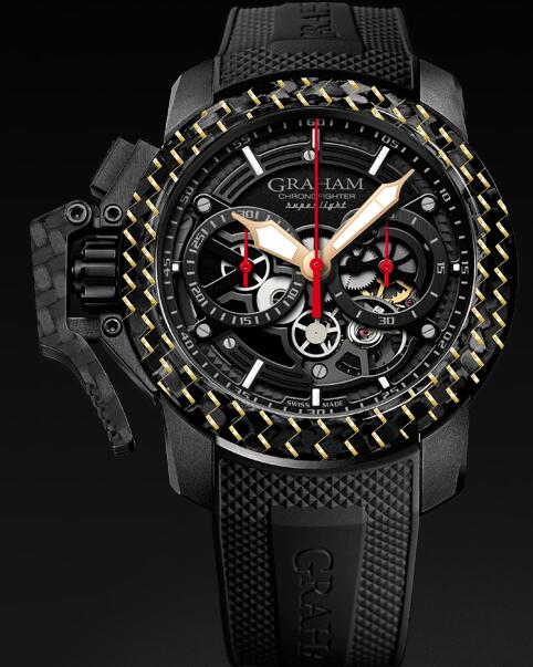 Graham Chronofighter Superlight 2CCBK.B25B Replica Watch