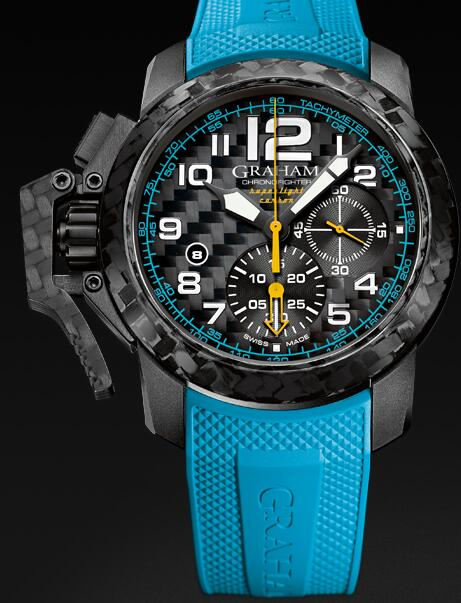 Graham Chronofighter Superlight 2CCBK.B30A Replica Watch