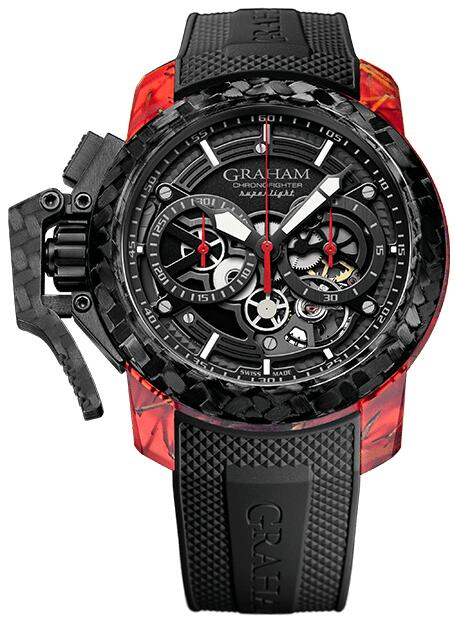 Graham Chronofighter Superlight CARBON SKELETON 2CCCK.B41A Replica Watch