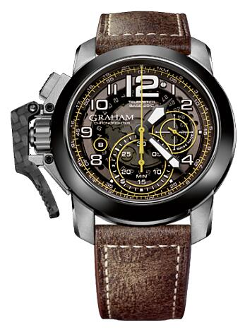 Graham Chronofighter Oversize Target 2CCAC.B16A Replica Watch