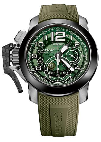 Graham Chronofighter Oversize Target 2CCAC.G03A Replica Watch