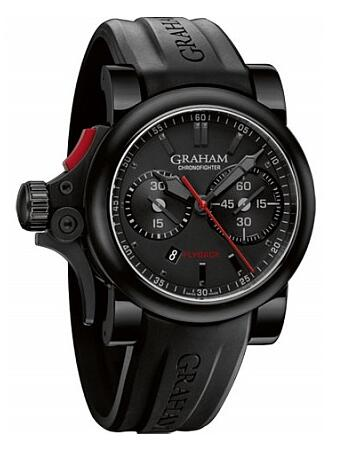 Graham Chronofighter Trigger Flyback 2TRAB.B10A Replica Watch