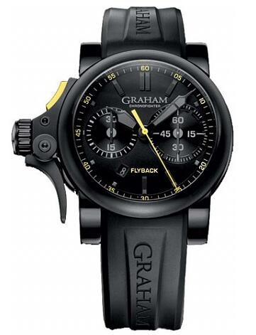 Graham Chronofighter Trigger Flyback 2TRAB.B11A Replica Watch