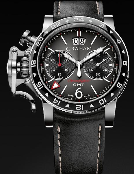 Graham Chronofighter Vintage GMT 2CVBC.B15A Replica Watch