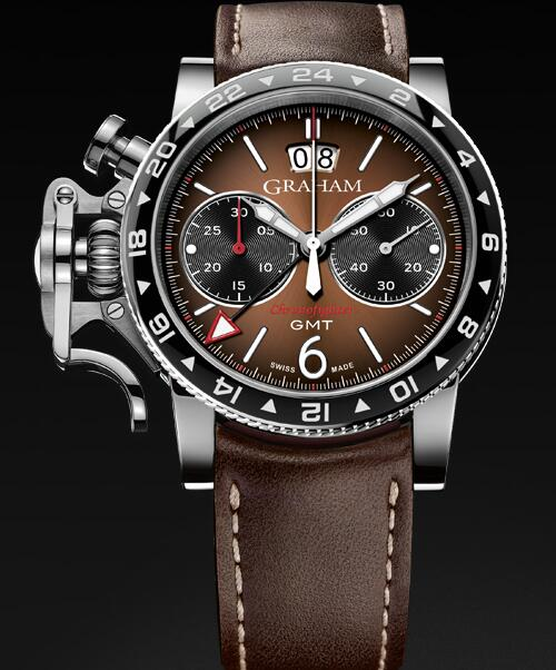 Graham Chronofighter Vintage GMT 2CVBC.C01A Replica Watch