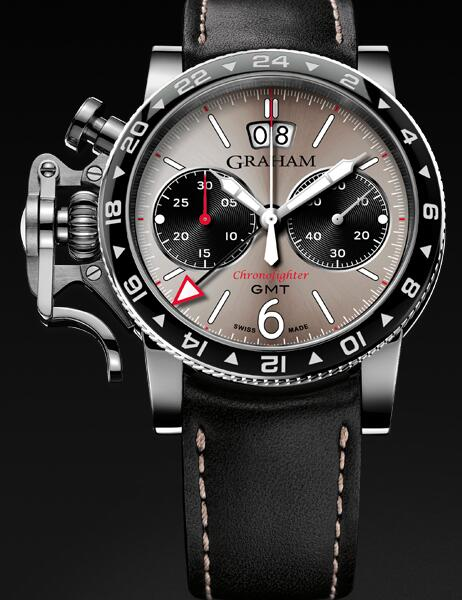Graham Chronofighter Vintage GMT 2CVBC.S07A Replica Watch