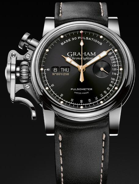 Graham Chronofighter Vintage Pulsometer 2CVCS.B20A Replica Watch