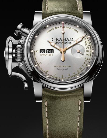 Graham Chronofighter Vintage Pulsometer 2CVCS.S01A Replica Watch