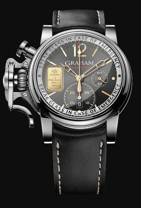Graham Chronofighter Vintage Special Series EMERGENCY GOLD 2CVAS.B35A Replica Watch