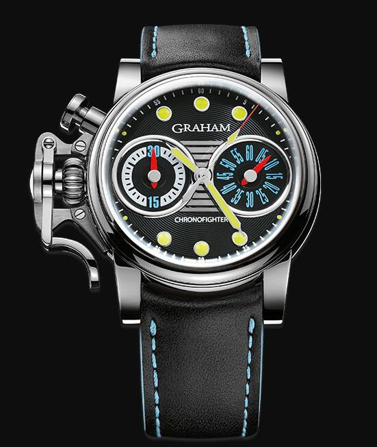 Graham Chronofighter Vintage Special Series VINTAGE LTD-STINGRAY 2CVES.B05A Replica Watch