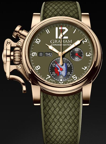 Graham Chronofighter Vintage Overlord Ltd 2CVAK.G05A Replica Watch
