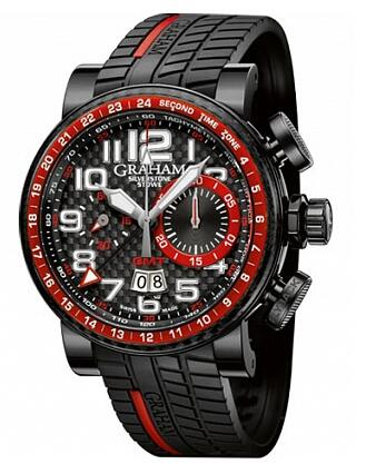 Graham Silverstone Stowe GMT Red 2BLCB.B10A.K60N Replica Watch