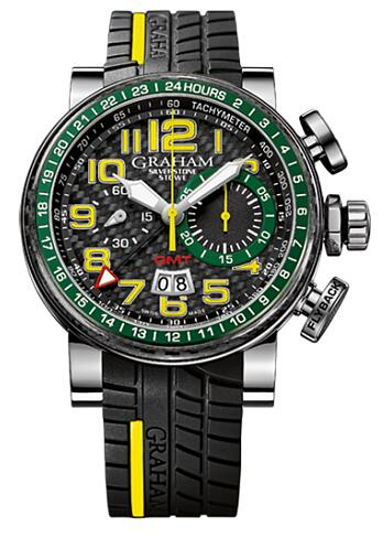 Graham Silverstone Stowe GMT 2BLCB.B30A.K84S Replica Watch