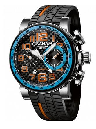 Graham Silverstone Stowe Racing Blue 2BLDC.B13A Replica Watch
