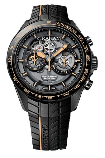 Graham Silverstone Skeleton 2STAB.B09A Replica Watch