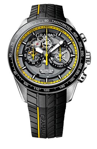 Graham Silverstone Skeleton 2STAC.B14A Replica Watch