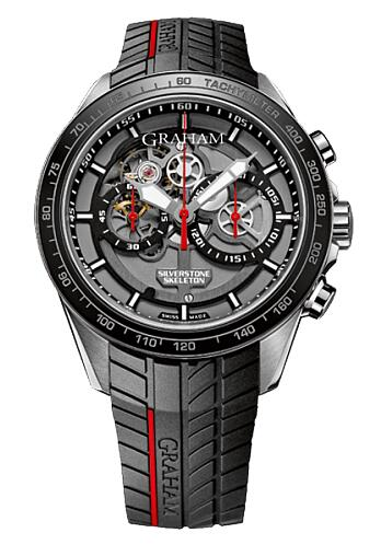 Graham Silverstone RS Skeleton Chronograph 2STAC1.B01A Replica Watch