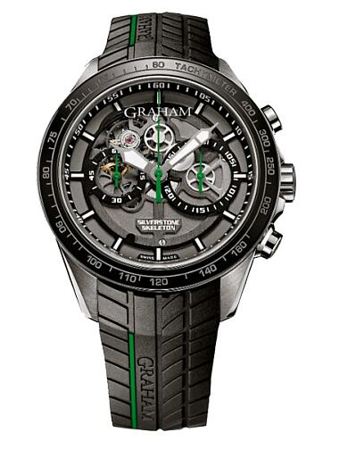 Graham Silverstone RS Skeleton Chronograph 2STAC2.B01A.K90F Replica Watch