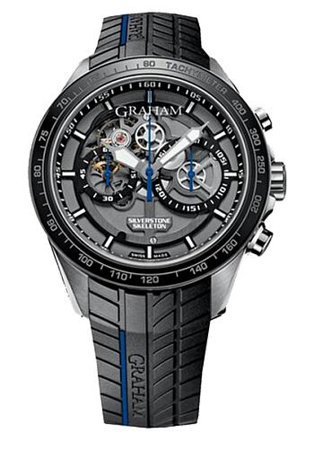 Graham Silverstone RS Skeleton Chronograph 2STAC3.B01A.K91 Replica Watch