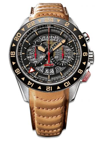 Graham Silverstone RS GMT 2STDC.B08A Replica Watch