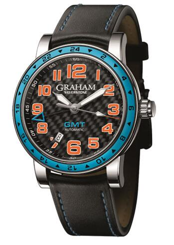 Graham Silverstone Time Zone Racing Blue 2TZAS.B01A Replica Watch