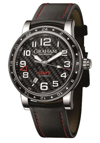 Graham Silverstone Time Zone Black 2TZAS.B02A Replica Watch