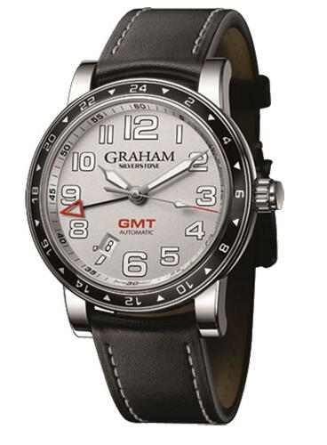 Graham Silverstone Time Zone Silver 2TZAS.S01A Replica Watch