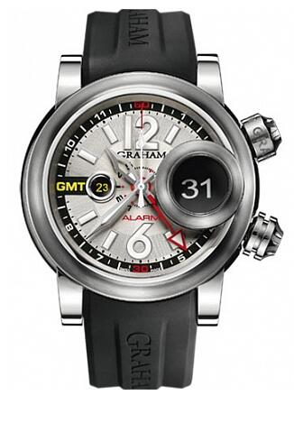 Graham Swordfish Grillo Alarm GMT 2SWGS.S08A Replica Watch