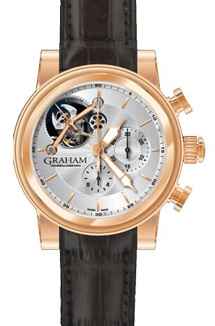 Graham Tourbillograph WOODCOTE 2TW.19.005 Replica Watch