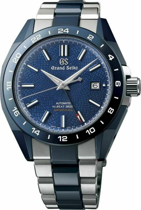 Grand Seiko Blue Ceramic Limited Edition SBGJ229 Replica Watch