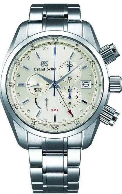 Grand Seiko Spring Drive Chronograph GMT SBGC201 Replica Watch