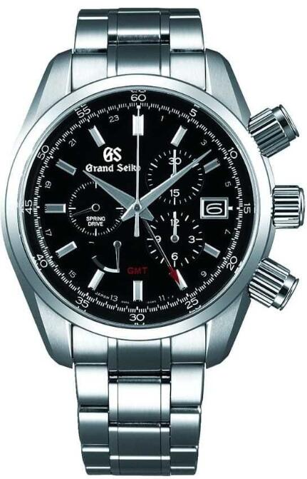 Grand Seiko Spring Drive Chronograph GMT SBGC203 Replica Watch