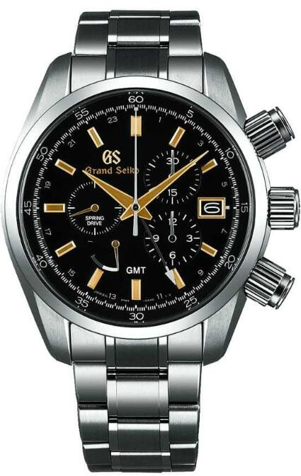 Grand Seiko Spring Drive Chronograph GMT SBGC205 Replica Watch